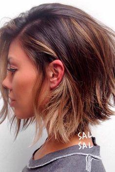 Beautiful Medium Bob Haircuts ★ See more: http://lovehairstyles.com/beautiful-medium-bob-haircuts/