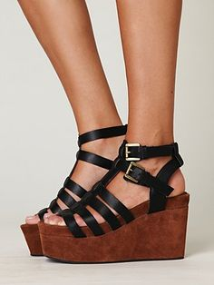 I like that these are both black and brown. $168