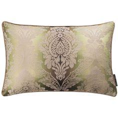 Ornato Damask Olive Rectangular Cushion