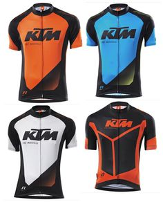 KTM team cycling jersey 2016 Maillot ciclismo, bike riding Jersey, Motorcycle Cycling Clothing