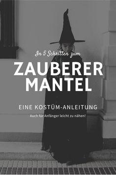 Eine Anleitung zum Zauberermantel in 5 Schritten - mamimade Maleficent, Der Arm, Mantel, Poster, Wizards, Tutorials, Movie Posters, Posters