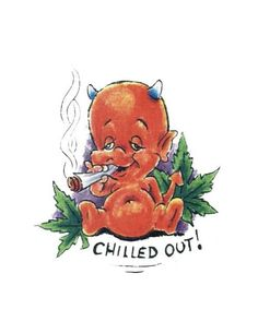 baby smoking weed | Baby Devil Smoking Weed Tattoo College Dorm Art, Cartoon Smoke, Smoke Drawing, Marijuana Art, Marijuana Funny, Weed Tattoo, Drugs Art, Vintage Cartoons, Tatoo