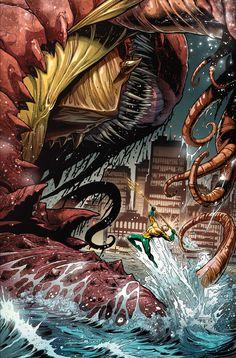 Aquaman by Paul Pelletier and Sean Parsons *