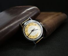 Wristwatches, Etsy Shop, Yellow, Silver, Christmas, Accessories, Vintage, Women, Xmas