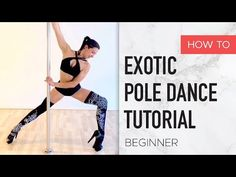 In this Exotic Pole Dance tutorial you will learn 8 Step-Around Moves on a static pole that are a must. Pole Fitness Moves, Pole Dance Moves, Pole Dancing Fitness, Dance Choreography, Barre Fitness, Fitness Exercises, Dance Moms, Belly Dance Lessons, Dance Hip Hop