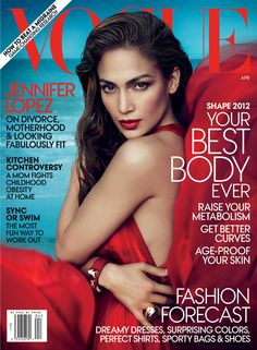 Jennifer Lopez, Vogue, April 2012