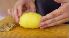 Ecco il trucco facile e velocissimo per sbucciare le patate