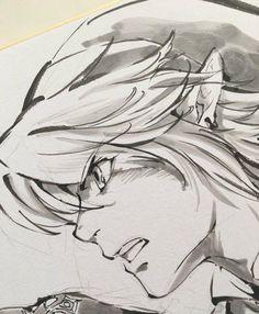 the legend of zelda link zelda manga, video games The Legend Of Zelda, Legend Of Zelda Breath, Zelda Drawing, Manga Drawing, Legend Drawing, Zelda Twilight Princess, Link Zelda, Art And Illustration, Akira Himekawa