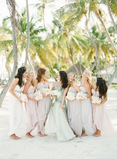 Chic Destination Wedding in Islamorada ~ Britt + Sam - Bridesmaids