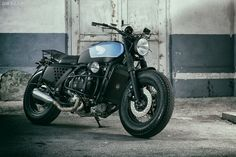 This stunning Honda GL1000 Gold Wing is a 1975 model customized by Slovenia's ER Motorcycles.