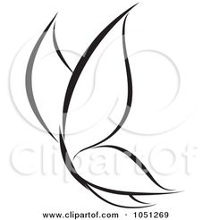 Royalty-Free Vector Clip Art Illustration of a Black And White Butterfly Logo - 1 by elena Butterfly Logo, Butterfly Drawing, Butterfly Clip Art, Butterfly Black And White, Fairy Tattoo Designs, Clip Art Pictures, Quilling Patterns, Filigree Design, Grafik Design