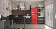 Red, Black and Grey
