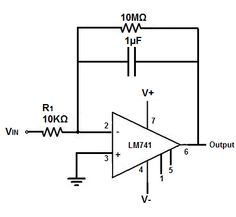 ‪#‎IntegratorOpAmp‬ Circuit is an electronic integration circuit,Based on the operational amplifier,it performs the mathematical operation of integration.