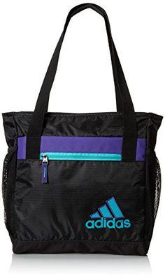 adidas Women's Squad II Club Bag, 14 1/2 x 13 x 5-Inch, Black/Power Purple/Vivid Mint adidas Performance http://www.amazon.com/dp/B00GOO8N1E/ref=cm_sw_r_pi_dp_EJdPub078KM1J