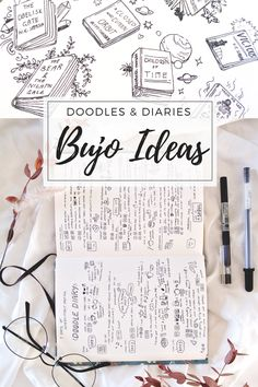 All my little doodle ideas, inspiration for visual diaries and more creative tips for the bullet journal! I've taken pics of all my bujo pages in June and hope they inspire you to stay creative, flexible and artsy in your planning...!