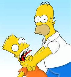 the simpsons bart and homer - Bing images