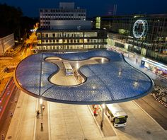 'Building With Air' Bus Shelter By VJA, FormTL And Suisseplan (CH)