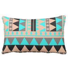 Browse our amazing and unique Pattern wedding gifts today. The happy couple will cherish a sentimental gift from Zazzle. Designer Throw Pillows, Decorative Throw Pillows, Unique Teen Bedrooms, Triangle Pillow, Pillows Online, Cool Patterns, Pillow Design, Triangles, Lumbar Pillow