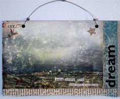 The Artistic Life: Altered photo tutorial & Saturday Giveaway #4