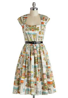 I NEED THIS DRESS!  SO FRIGGIN ADORABLE! You're Inn Luck Dress in Main Street, #ModCloth