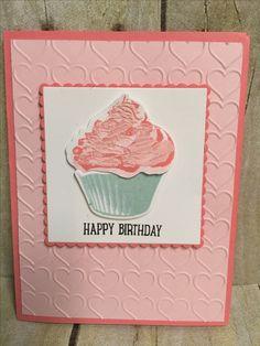 Stampin' Up! Sweet Cupcake created by Amanda Waldhart