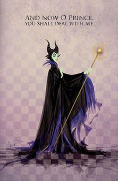 Maleficent, she has got to be my favorite Disney villain!!!