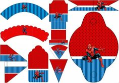 Spiderman Party: Free Printables for Parties.