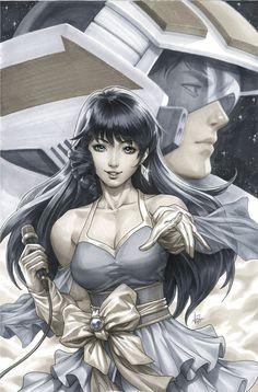 Cover Stories: Red Sonja To Riverdale To Robotech, From J Scott Campbell, Artgerm And Macross Valkyrie, Robotech Macross, Comic Manga, Manga Anime, Anime Art, Anime Toon, Comic Books Art, Comic Art, Book Art