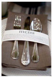 menu prático