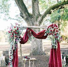 texture1 Romantic Wedding Decor, Wedding Altars, Wedding Reception Decorations, Wedding Flowers, Wedding Ideas, Metal Wedding Arch, Fall Wedding Arches, Bohemian Backdrop, Destination Wedding