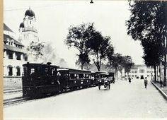 1920's - Semarang, Lawang Sewu (dahulu Kantor Jawatan Kereta Api Hindia Belanda).