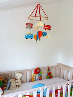 I am three months into being a new mum and have finally found some time to do some crafty projects. The first being a DIY Mobile for Harry'...