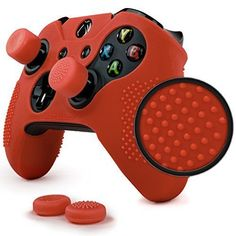 Quality Red Skin Set for Xbox One Controller 4 Grips Style Gift Accessories | eBay