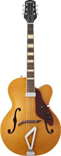 Gretsch G100CE Synchromatic Archtop Cutaway Acoustic Electric Guitar, Natural >>> Check out this great product.