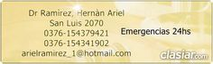 Dr Ramirez 0376154379421 24hs San Luis 2070 Abogado http://posadas.clasiar.com/dr-ramirez-0376154379421-24hs-san-luis-2070-abogado-id-254530