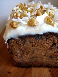 Best Friends Banana Carrot Cake | My New Roots