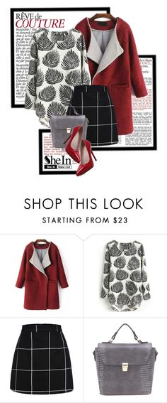"""""""Sheinside-Print Blouse!"""" by elena-indolfi ❤ liked on Polyvore featuring Revé, women's clothing, women's fashion, women, female, woman, misses and juniors"""