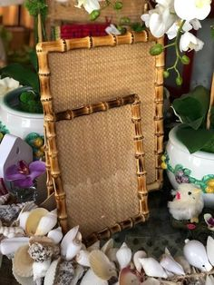 Available in both natural and burnt bamboo shadesSizes: and Bamboo Picture Frames, Bamboo Furniture, Modern Furniture, Furniture Design, Bamboo Mirror, Tropical Bedrooms, Bamboo Table, Bamboo Shades, Bamboo Design