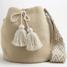 Fair-trade Handmade Wayuu Boho Bags