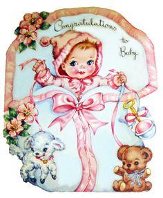 vintage baby greeting card by jarmie52, via Flickr
