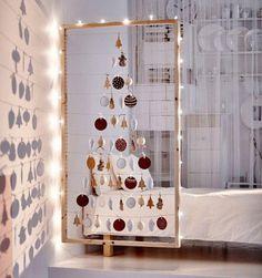 Es gibt viele Gründe, auf einen klassischen Weihnachtsbaum zu verzichten - zum Beispiel diese 10 kreativen DIY-Alternativen zum Bäumchen.