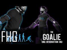 UMA Introduction of the Goalkeeper Models - High Quality Settings - YouTube