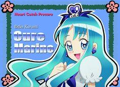 Heartcatch Precure! - Cure Marine art