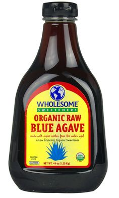 Wholesome Sweeteners Organic Raw Blue Agave -- 44 fl oz