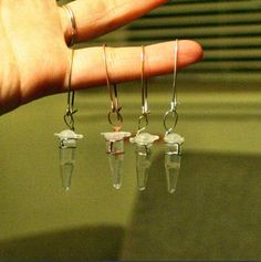Microtube Earrings - Lab Science Fashion