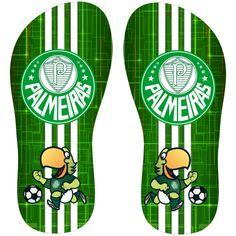 Transfer sublimático para chinelo Palmeiras 000396 - Customize Transfer Rock And Rool, Designer Sandals, Ems, Flip Flops, Jackson, Stickers, Frozen, Tumblr, Personalized Flip Flops