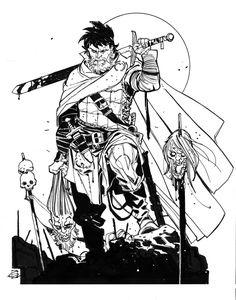 Sven by DavideGianfelice on DeviantArt Comic Book Style, Comic Books Art, Character Illustration, Graphic Illustration, Jim Lee Art, Character Art, Character Design, Graphic Novel Art, Comic Styles