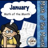 January Themed Daily Math Worksheets for Kindergarten Age Writing Center Kindergarten, Kindergarten Math Worksheets, Kindergarten Age, Math Activities, Teaching Resources, Teaching Ideas, Math Pages, Daily Math, Middle School Writing