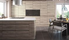 Pronto Stone Elm Malton Kitchen - By BA Components