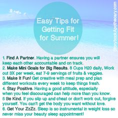 Fitspo Wellness Wednesday: Tons of fun ideas for aqua fitness, water sports and ways to get fit this summer when it's to hot to do your normal workout! Get fit, have fun and enjoy summer while you work toward your goals!